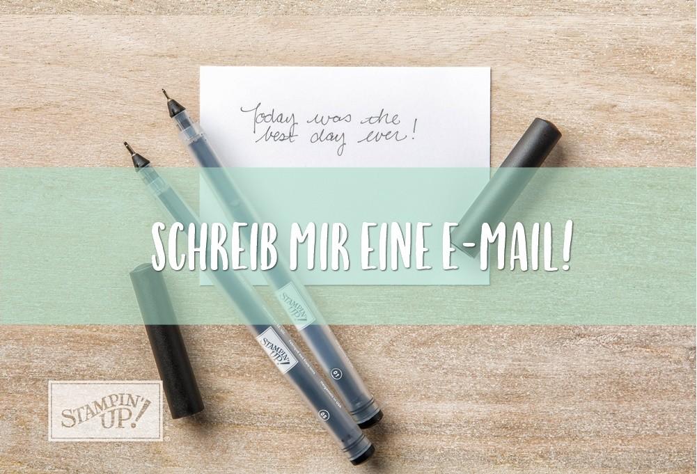 Schreib mir eine E-Mail!