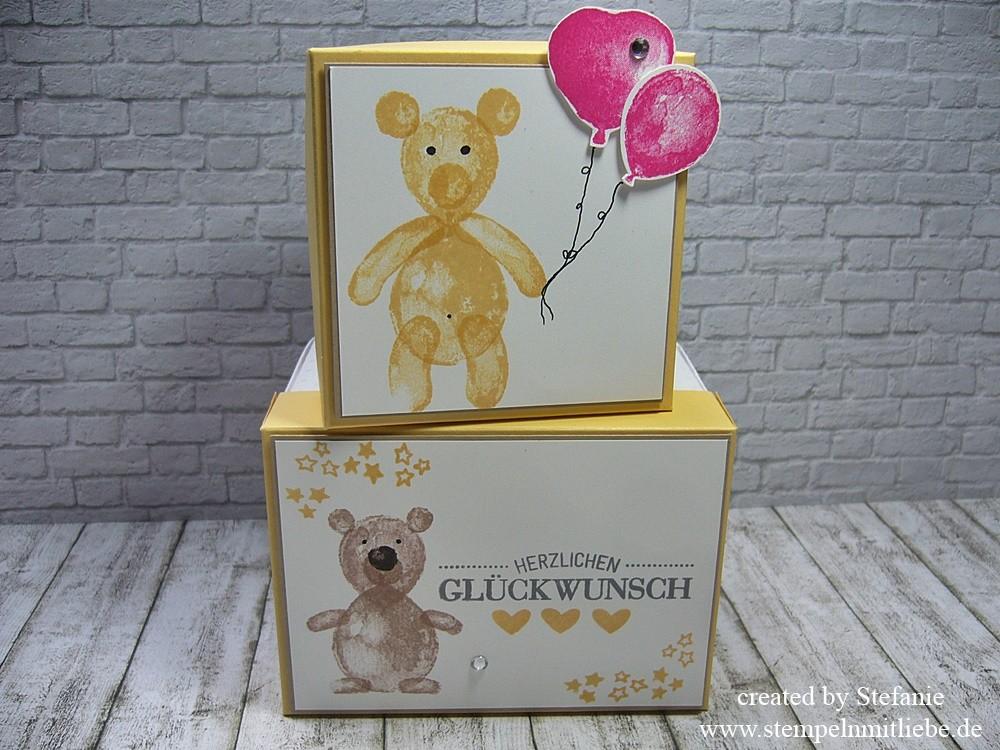 Verpackungen mit den Ballon Builders inkl. kleiner Anleitung