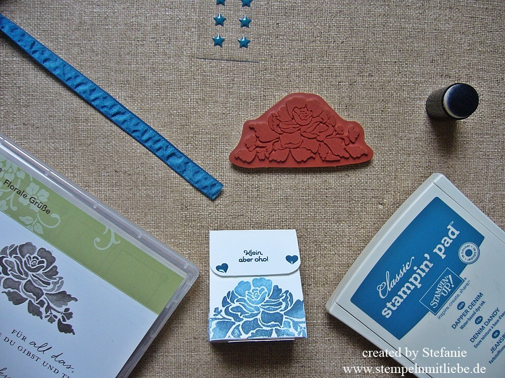 Inspirationen Team Stempelwiese – Anleitung Tutorial Gastgeschenk, Goodie, Give Away zur Hochzeit