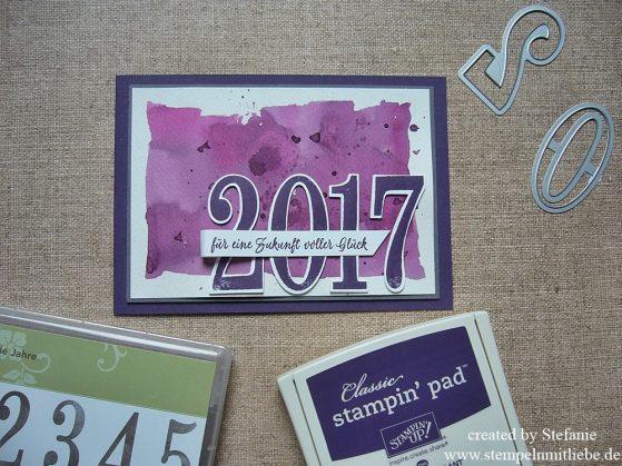 Frohes Neues Jahr Karte für eine Zukunft voller Glück