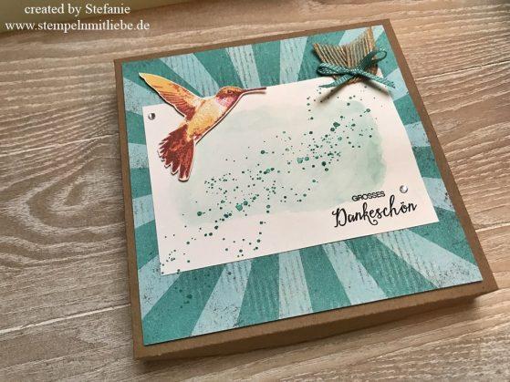 Global Design Project GDP #075: Dankeschön Box mit dem Stempelset Picture Perfect