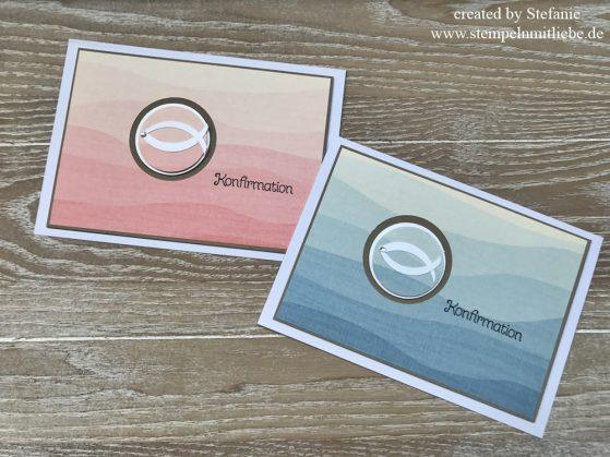 Simple Karten zur Konfirmation und Kommunion