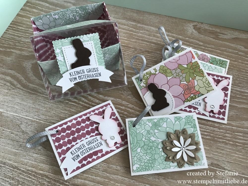 Osterbox mit Geschenkanhängern inkl. Anleitung ~ Blogparade