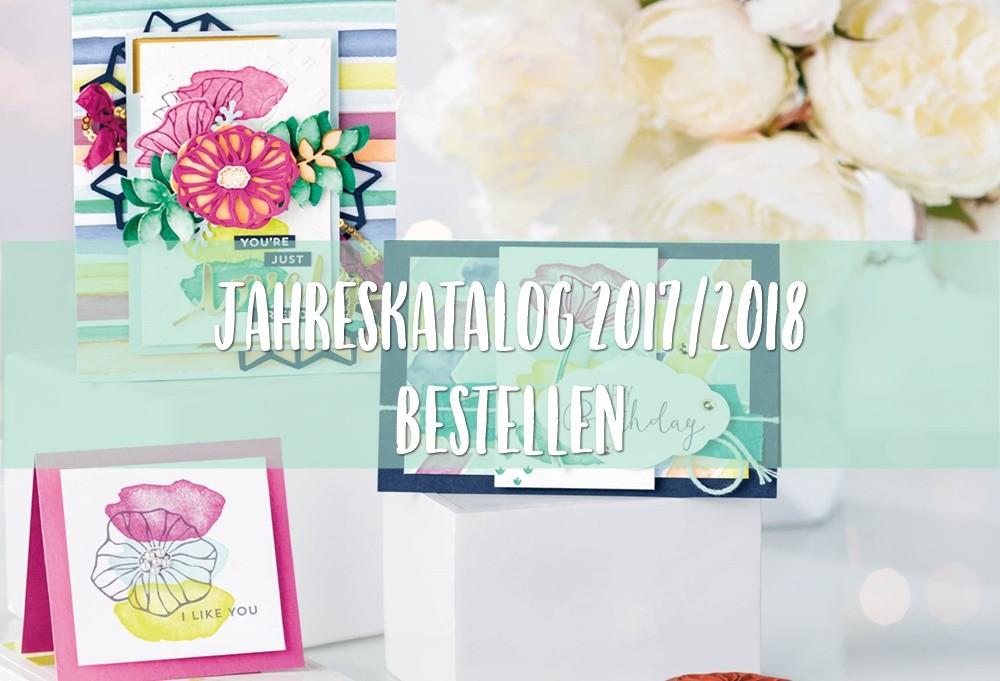 Jahreskatalog 2017 / 2018 bestellen