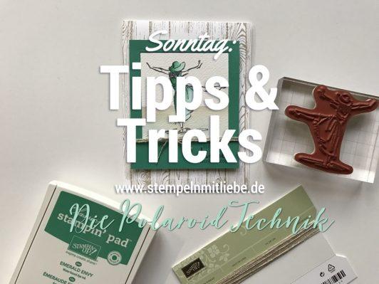 Sonntag: Tipps & Tricks Die Polaroid Technik inkl. Video