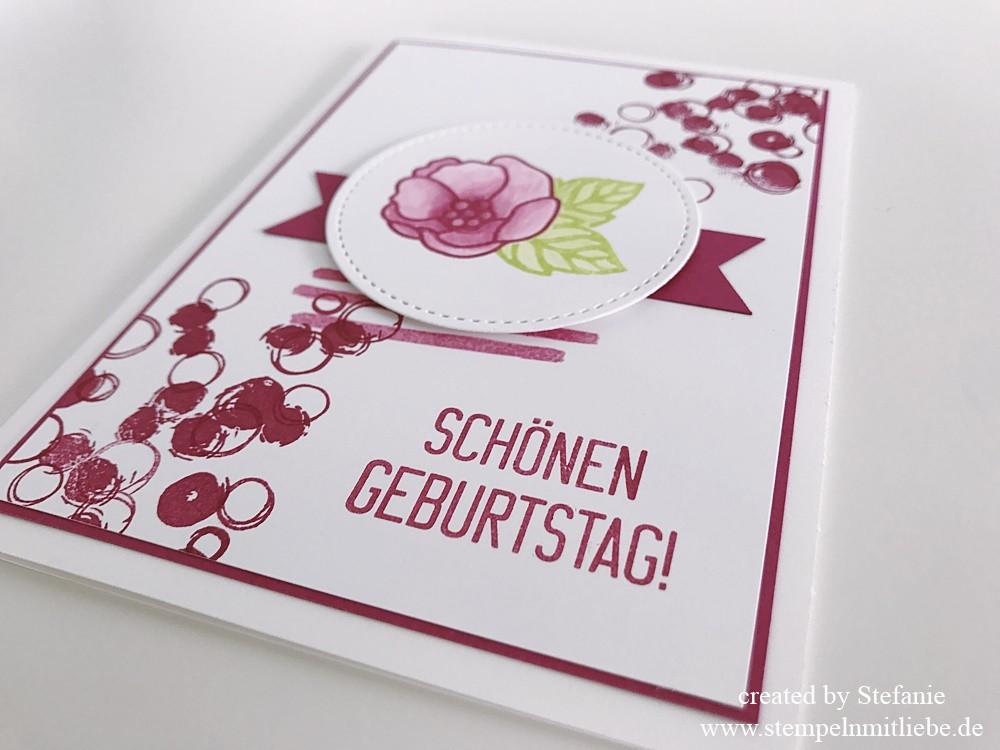 Geburtstagskarten in den In Color Farben 2017-2019 | Stampin\' Up ...