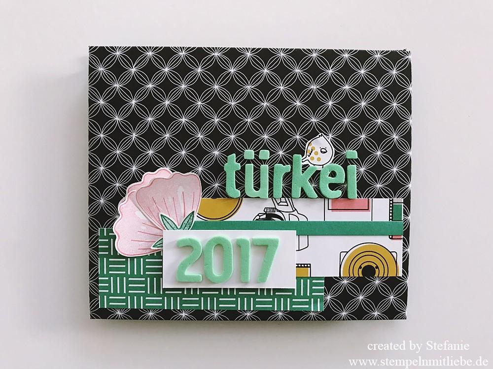 Minialbum mit dem Designerpapier Muster & Motive02_stempelnmitliebe