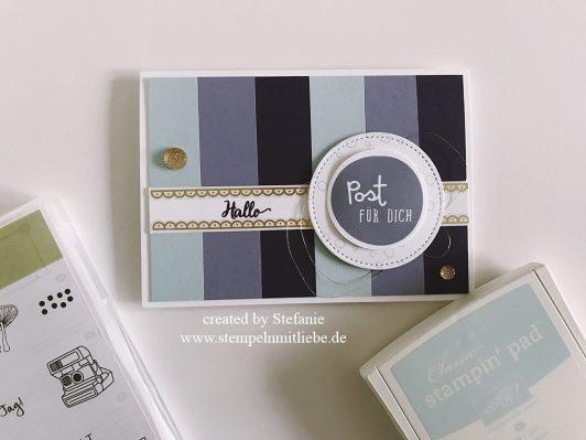 Post für dich in Blauregen, Aubergine und Himmelblau