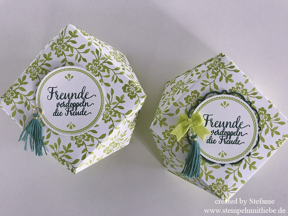 Florale Diamantbox Stampin Up Kaarst