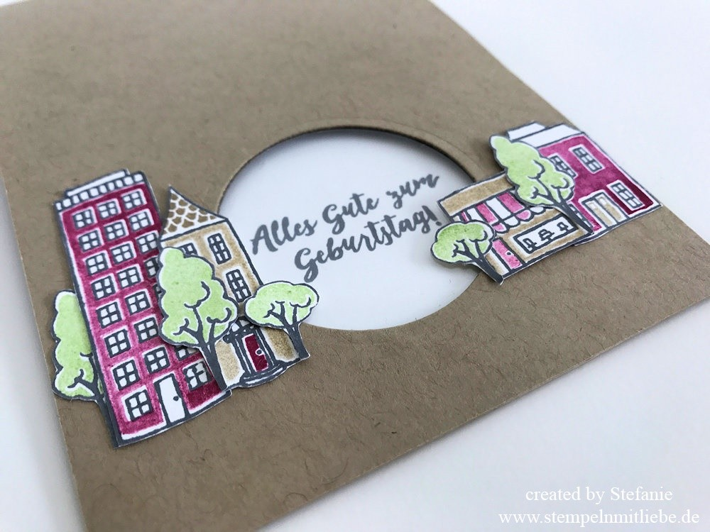 Global Design Project 97 - stampin up