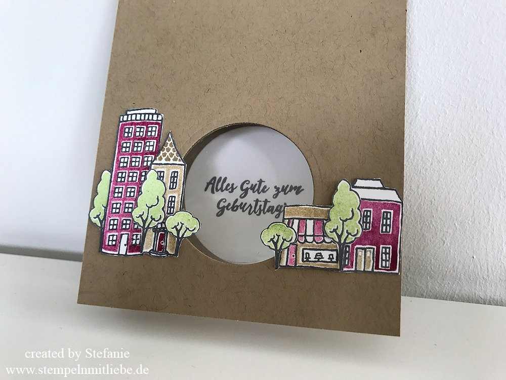 Global Design Project GDP#097 - stampin up