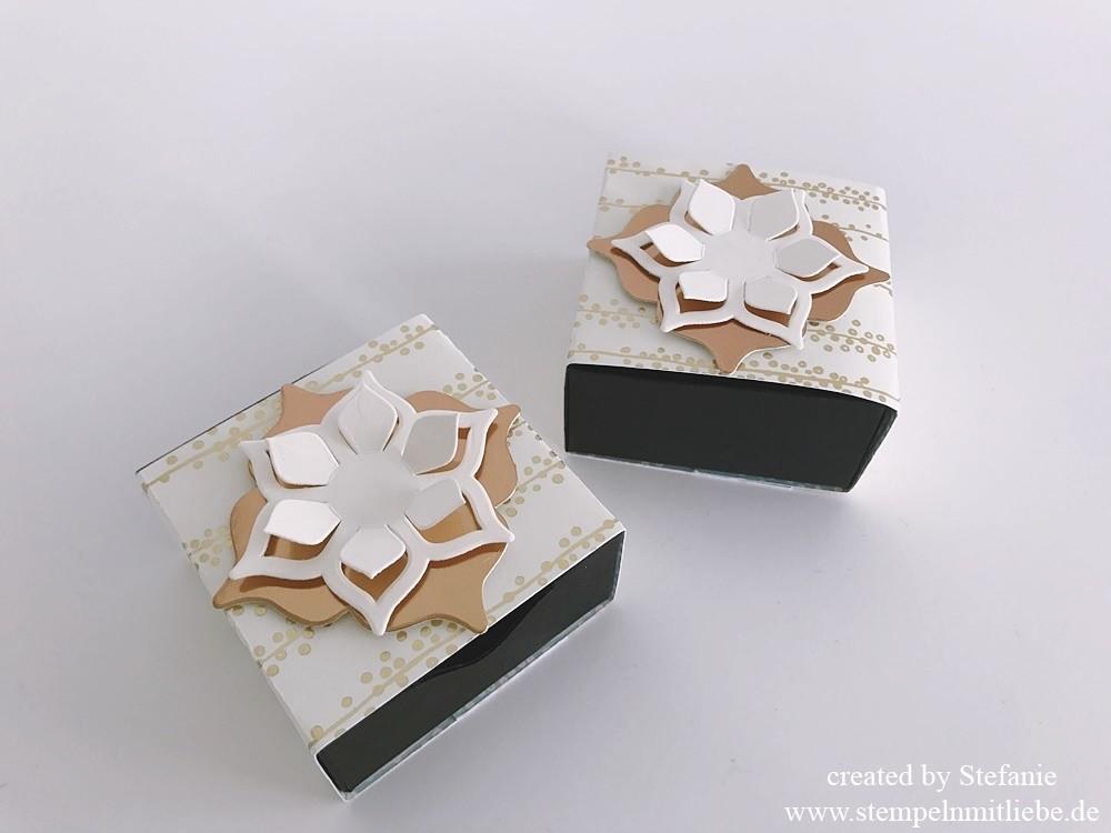Matchbox in neuem Golddesign Stampin Up 01