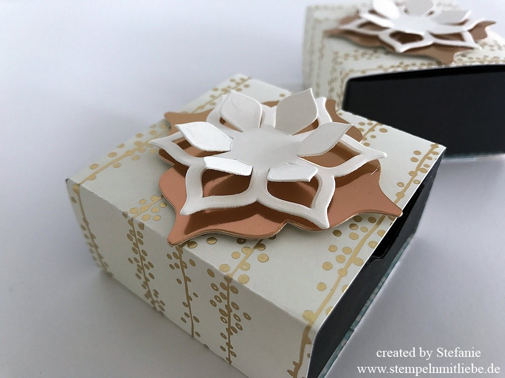 Matchbox in  neuem Golddesign Stampin Up 02