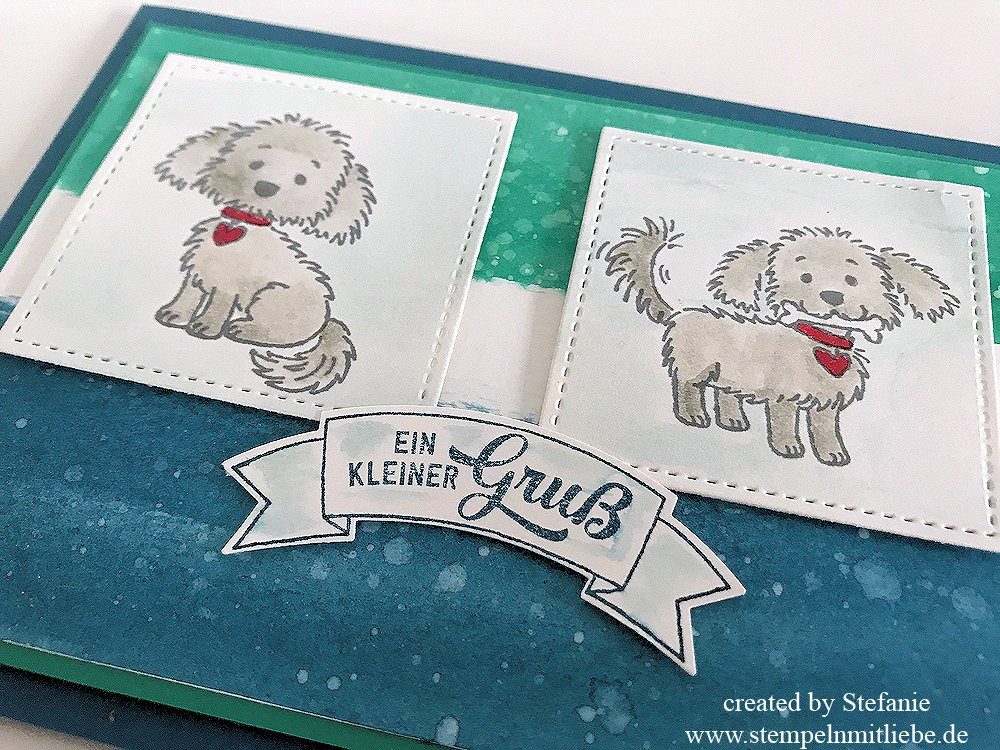 Bella & Friends in Aquarell - Stampin Up 01