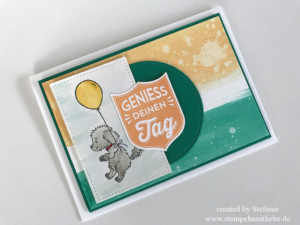 Bella & Friends in Aquarell - Stampin Up 07