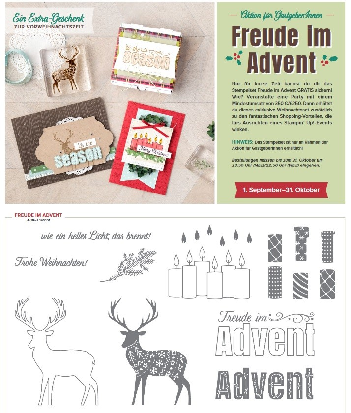 Freude im Advent - Stampin Up