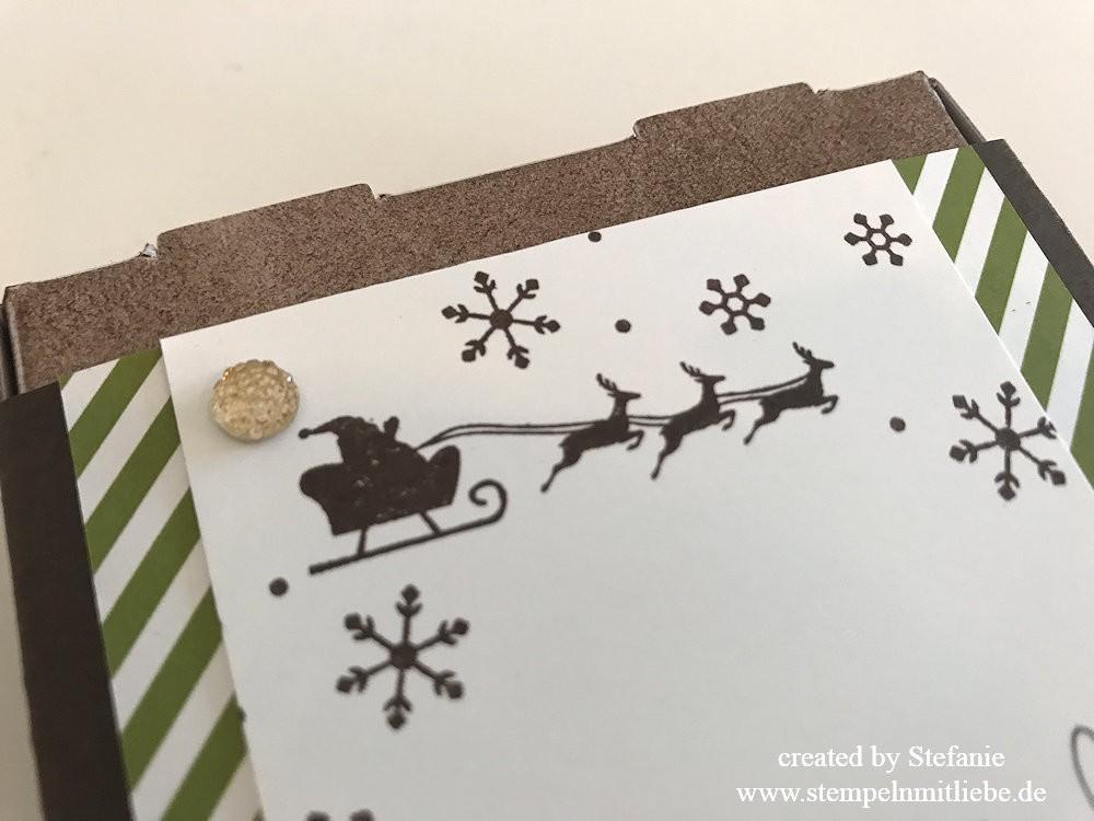 Weihnachtlicher Pizzakarton Global Design Project 102 03