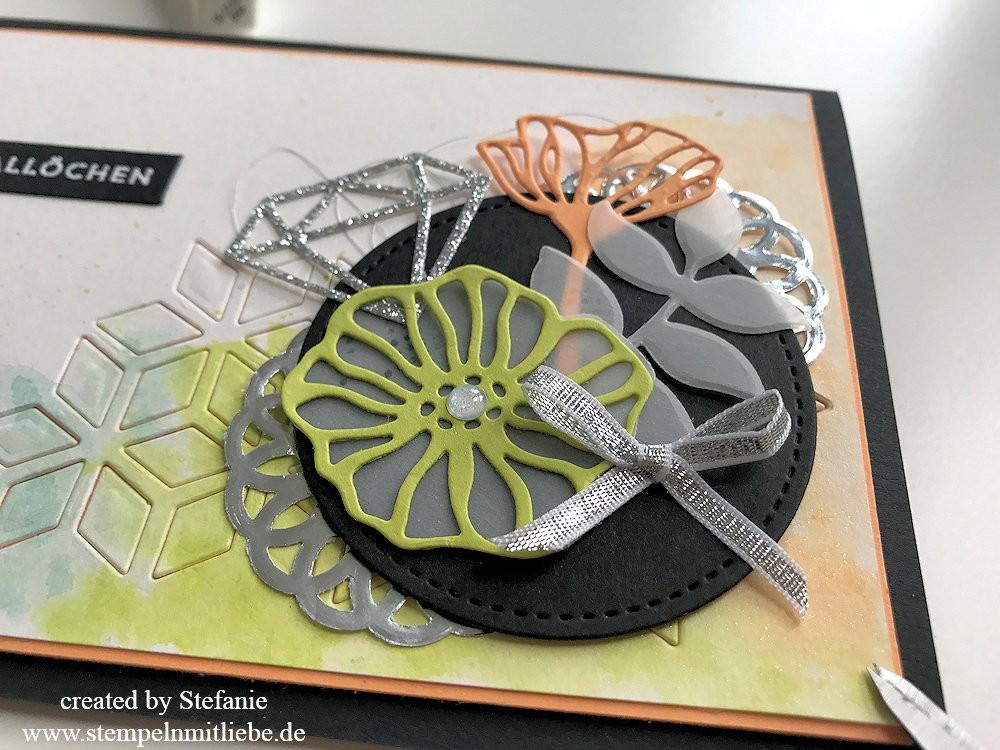Grußkarte mit dem Produktpaket Bunt Gemischt - Stampin - Up 02