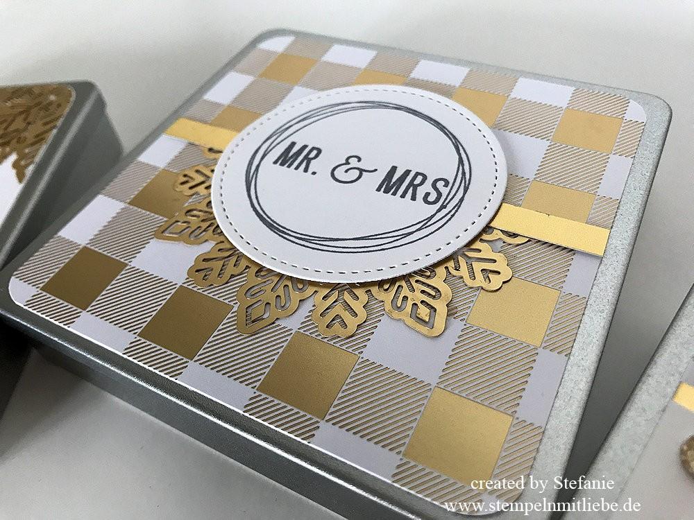 Metalldosen zur Hochzeit - Stampin Up 06