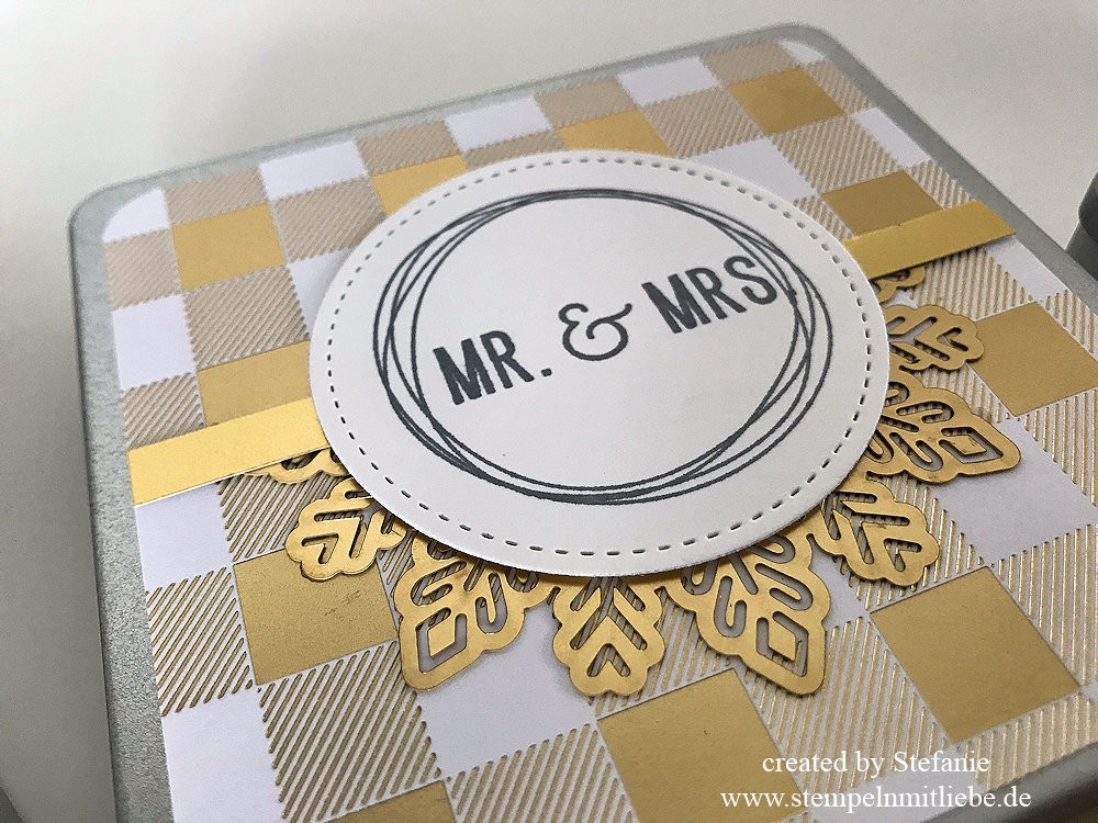 Metalldosen zur Hochzeit - Stampin Up 05