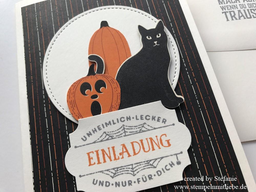 Einladungskarte zur Halloweenparty Kaarst 02
