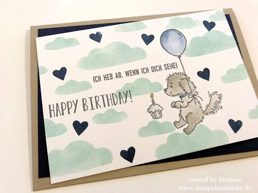 Männer Geburtstagskarte Stampin Up Kaarst 02
