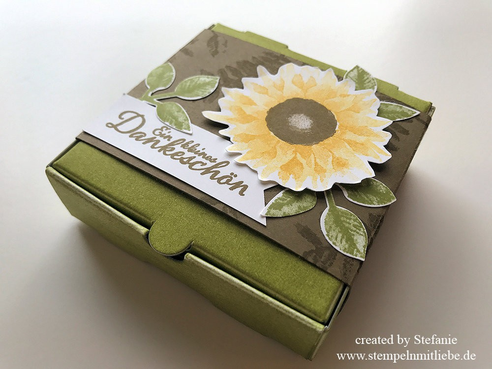 Herbstliche Karte & Mini-Pizzaschachtel Stampin Up Kaarst 05