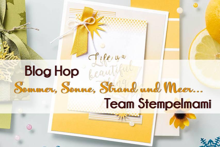 Sommergrusskarte und Lesezeichen Stampin Up Kaarst 07
