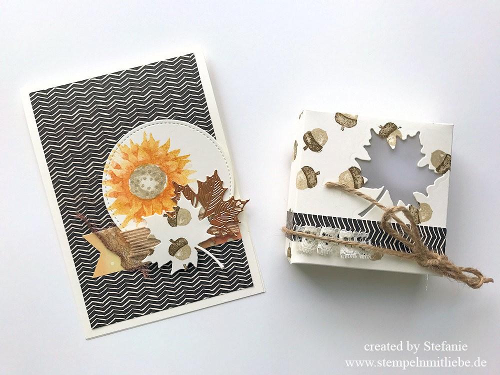 PapierverSUchung Design Team Thema Herbst