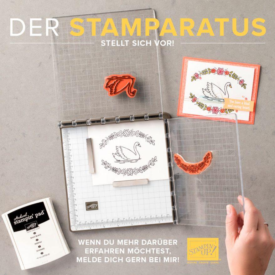 Neue stempelhilfe von stampin 39 up der stamparatus for Amazon stempel