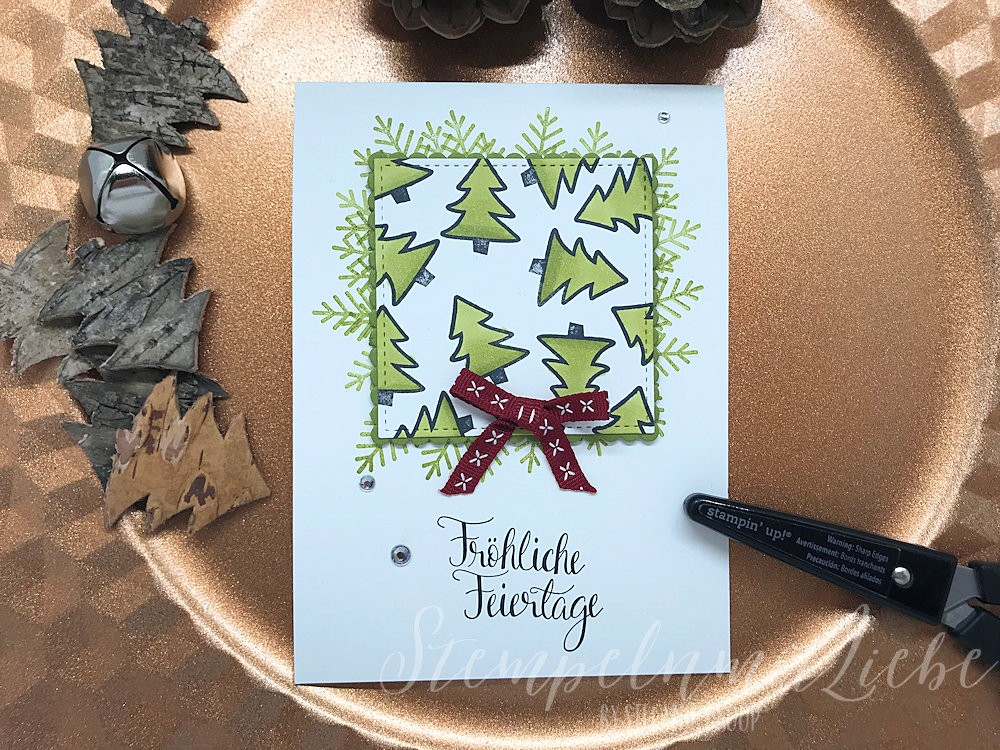 Malerische Weihnachten in Olivgrün - Stampin Up - Kaarst - StempelnmitLiebe (1)