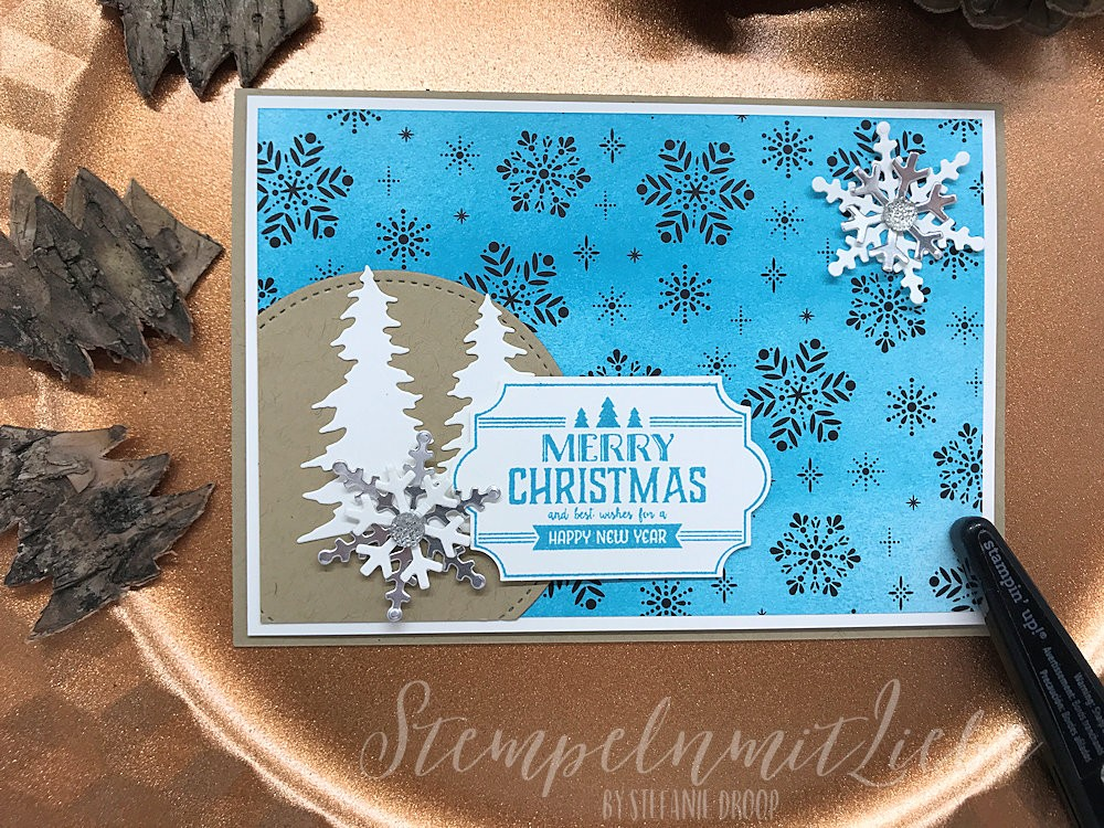 Merry Christmas in Türkis - Stampin Up - Kaarst - StempelnmitLiebe (1)