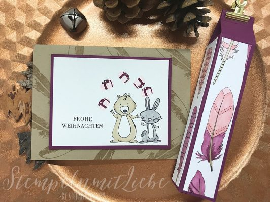 Workshop Projekte mit den Stampin' Blends