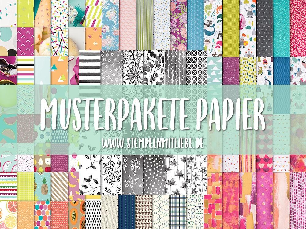Musterpakete Papier – Designer Papier Share