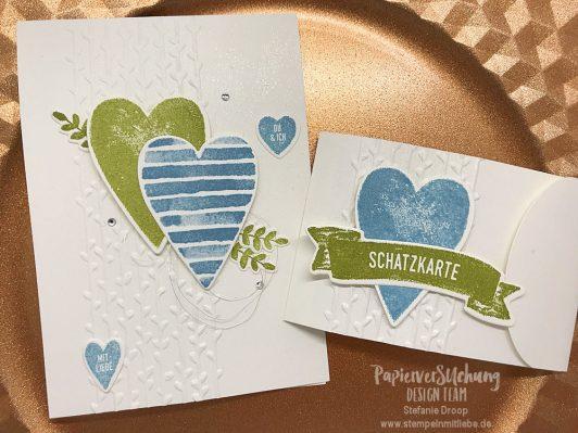 PapierverSUchung Design Team Thema Liebe