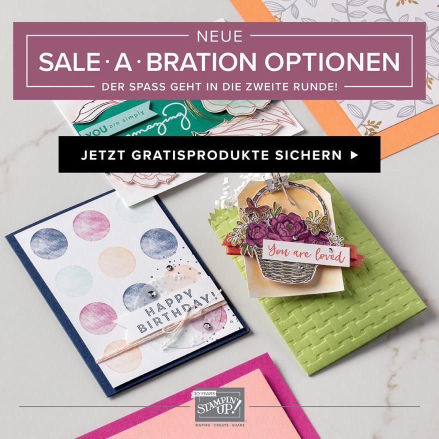 Sale-a-Bration Artikel ab 16. Februar