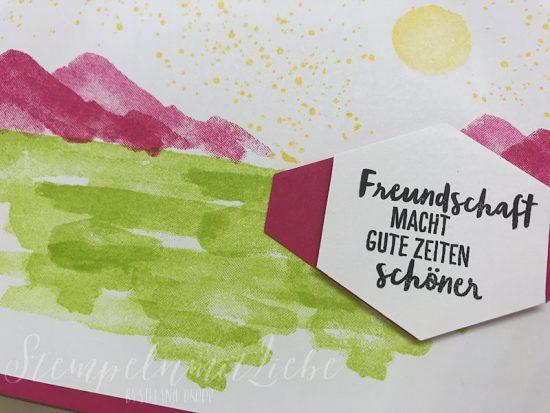 Am Ufer in Wassermelone und Limette - Stampin Up - Kaarst - StempelnmitLiebe (1)