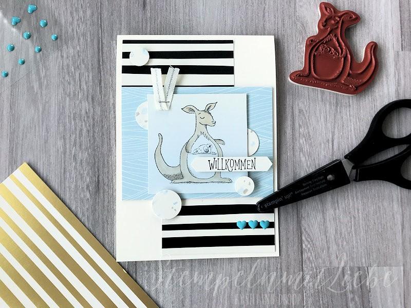 Babykarten mit dem Karten-Sortiment Babyglück I - Stampin Up -StempelnmitLiebe (1)