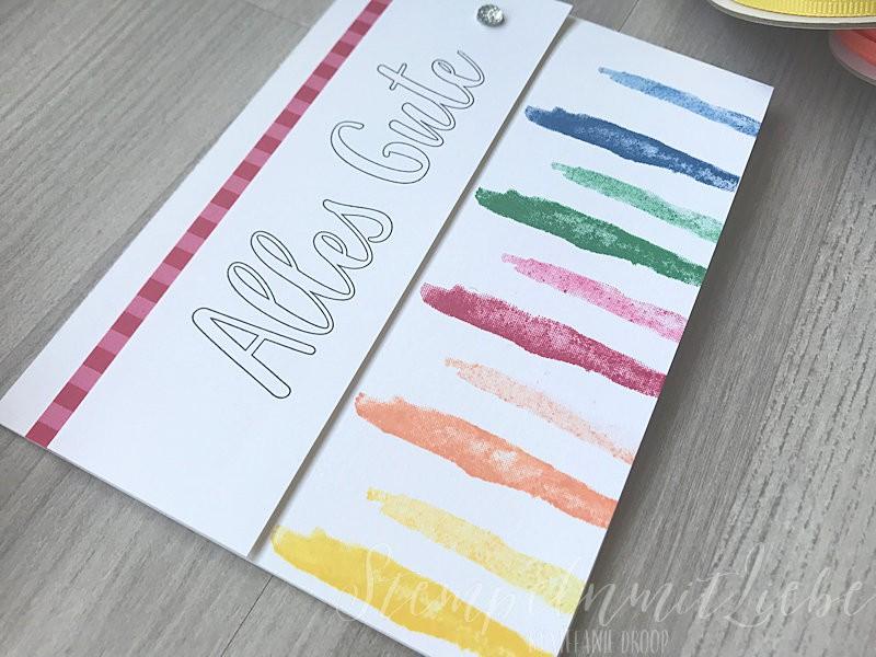 Bunte Geburtstagskarte In Color 2018 - 2020 - Stampin Up - StempelnmitLiebe (1)