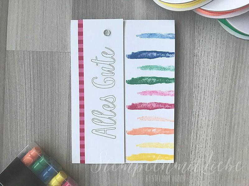 Bunte Geburtstagskarte In Color 2018-2020