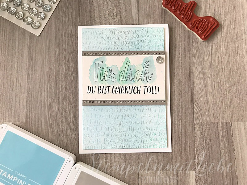 Global Design Project 138 - Stampin Up - StempelnmitLiebe (1)