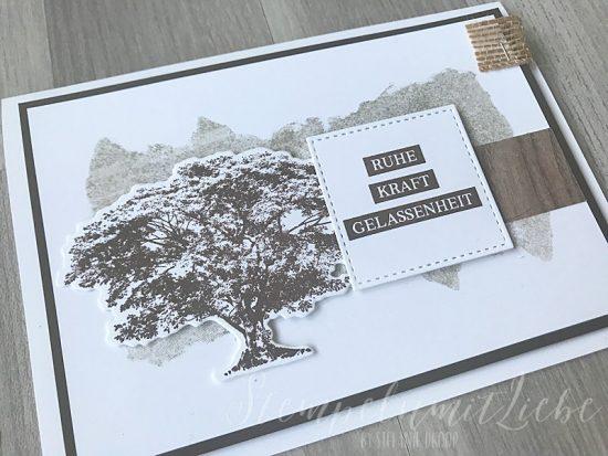 Trauerkarte mit Kraft der Natur - Stampin Up - StempelnmitLiebe (1)