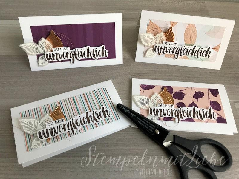 Dankeskarten für Bestellungen im Juni - Stampin Up - StempelnmitLiebe (1)