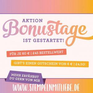 Bonustage - Stampin Up