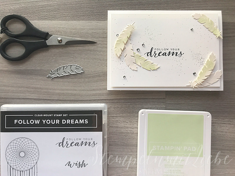 Follow your Dreams in Lindgrün - Stampin Up - StempelnmitLiebe (1)