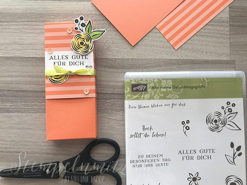 Kreativ-Hop zur Farbe Grapefruit: Verpackung