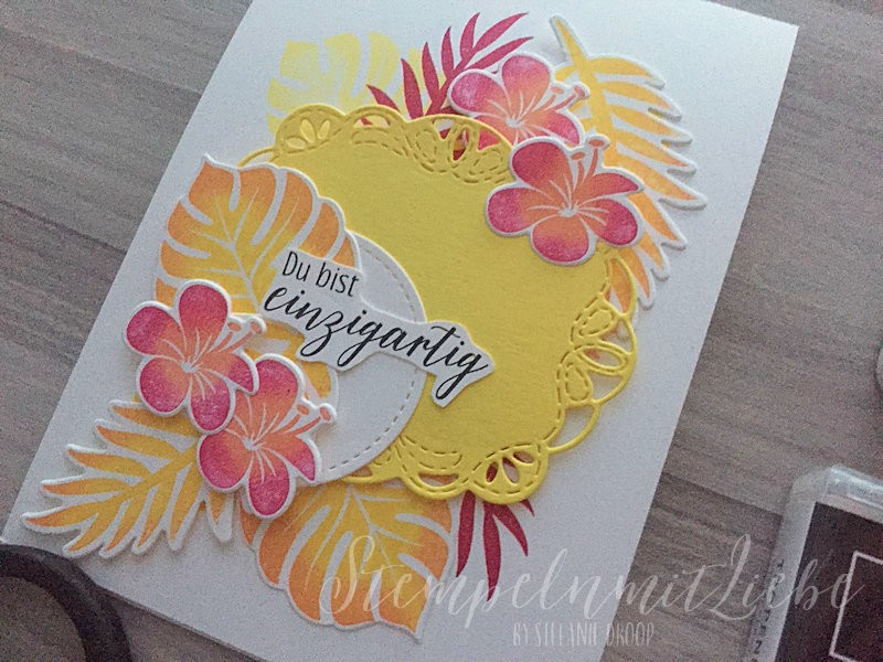 Tropenflair in In Color - Stampin Up - StempelnmitLiebe (1)