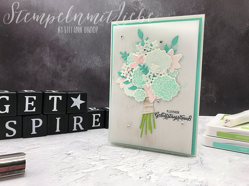 Blumiges Bouquet in Jade - Stampin Up - StempelnmitLiebe (1)