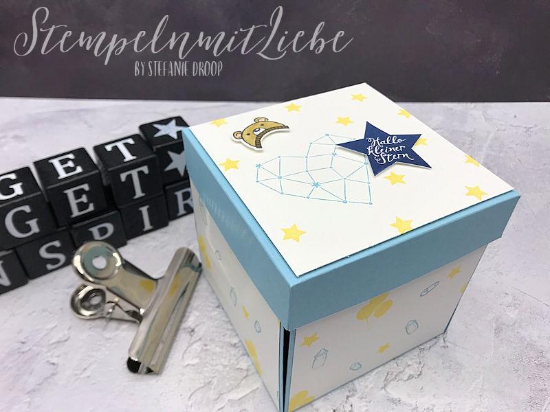 Baby Explosionsbox für einen Jungen