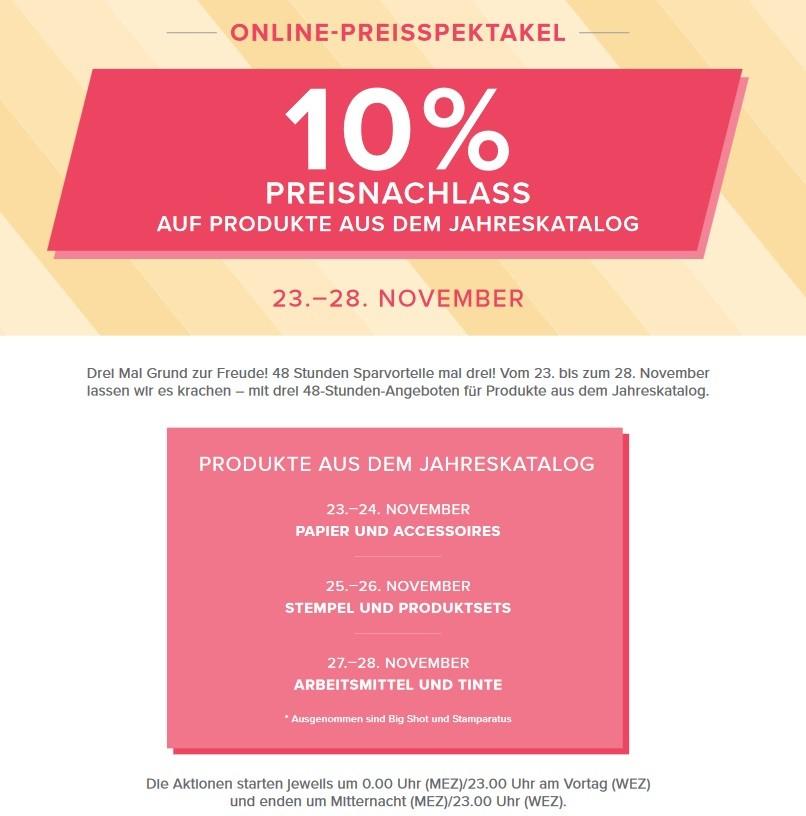 Informationen zum Online Preisspektakel